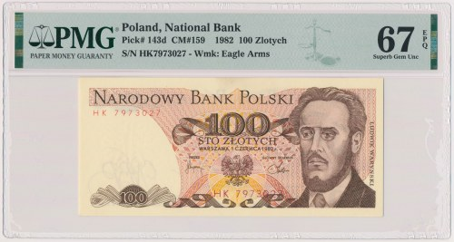 100 złotych 1982 - HK