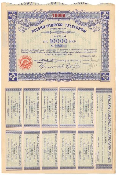 Polska Fabryka Telefonów, 5x 10.000 mkp