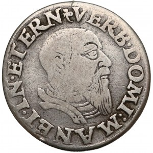 Śląsk, Fryderyk II, Trojak Brzeg 1543 - RZADKI