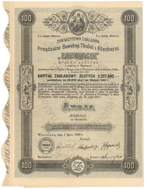 ZAWIERCIE..., Em.1, 100 zł