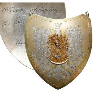 Ryngraf dla dowódcy 51 Pułku Piechoty Strzelców Kresowych, Brzeżany 1933 r.