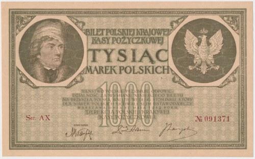 1.000 mkp 05.1919 - 6 cyfr - Ser.AX