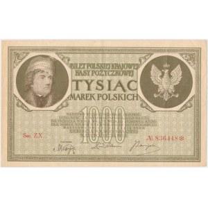 1.000 mkp 05.1919 - Ser.ZX