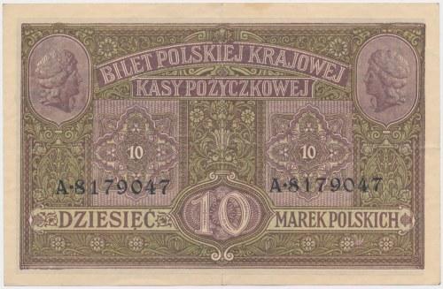 Generał 10 mkp 1916 ...biletów