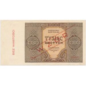 1.000 złotych 1945 - WZÓR - Ser.A