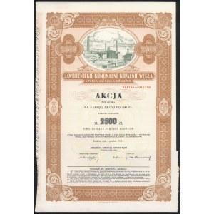 Jaworznickie Komunalne Kopalnie Węgla, 5x 500 zł 1932