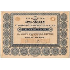 Bank Austro-Polski, 400 koron 1922