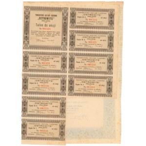 OSTROWITE Tow. Akc. Cukrowni, 100 zł 1937