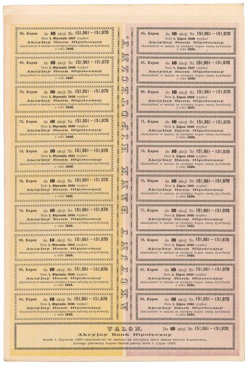 Akcyjny Bank Hipoteczny, Em.10, 10x 280 mkp 1921