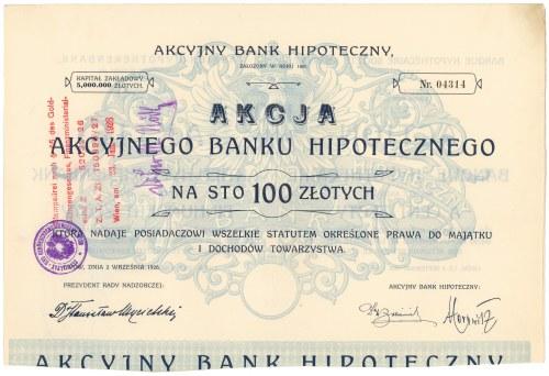 Akcyjny Bank Hipoteczny, Em.13, 100 zł 1926