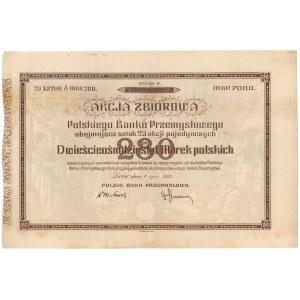 Polski Bank Przemysłowy, 25x 280 mkp 1922
