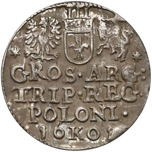 Zygmunt III Waza, Trojak Kraków 1601 - w prawo