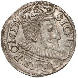 Zygmunt III Waza, Trojak Poznań 1594 - inicjały V-I i SIGI - rzadki