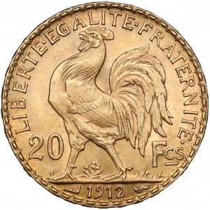 France, 20 Francs 1912