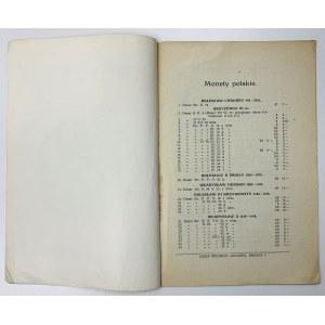 Monety polskie XI-XX w., Katalog nr 5., Münnich
