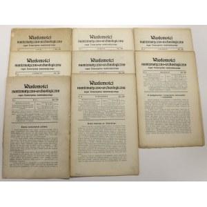 WNA 1909 zeszyty 5-12 (8szt)
