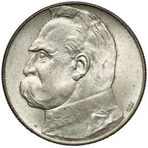 Strzelecki Piłsudski 10 złotych 1934 - PIĘKNY