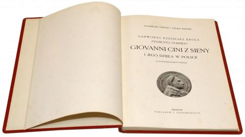 Nadworny rzeźbiarz króla Zygmunta Starego, Giovanni Cini - Kopera-Cercha 1934