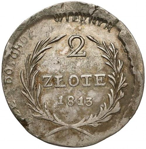 Oblężenie Zamościa, 2 złote 1813