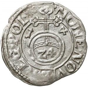 Zygmunt III Waza, Półtorak Kraków 1614 - tarcza
