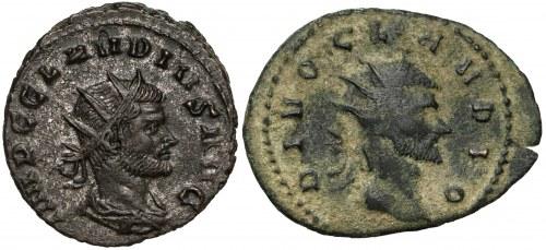 Roman Empire, Claudius II Gothicus, Lot (x2)