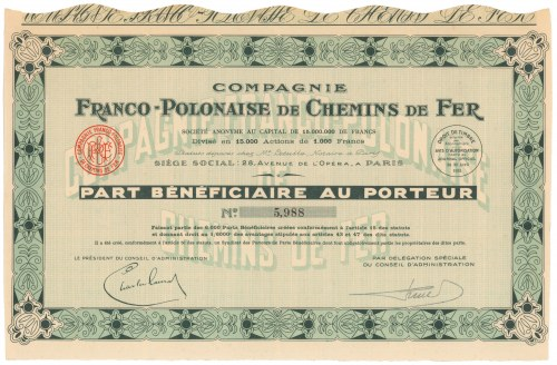 Franco-Polonaise de Chemins de Fer (Francusko-Polska Kompania Kolejowa)