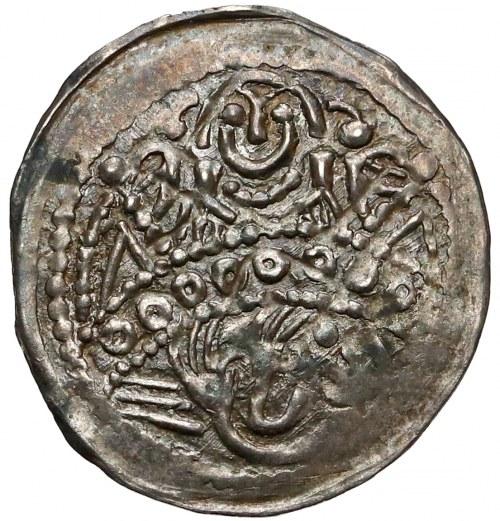 Bolesław V Wstydliwy, Denar Kraków (1250/54) - św. Stanisław / św. Wojciech