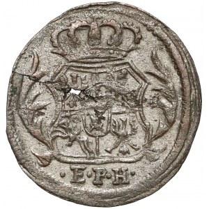 August II Mocny, Halerz 1711 EPH, Lipsk