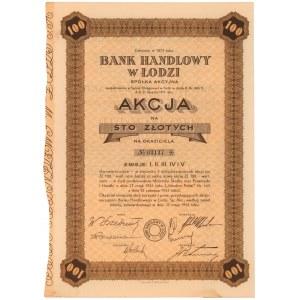 Bank Handlowy w Łodzi, Em.1-5, 100 zł 1935