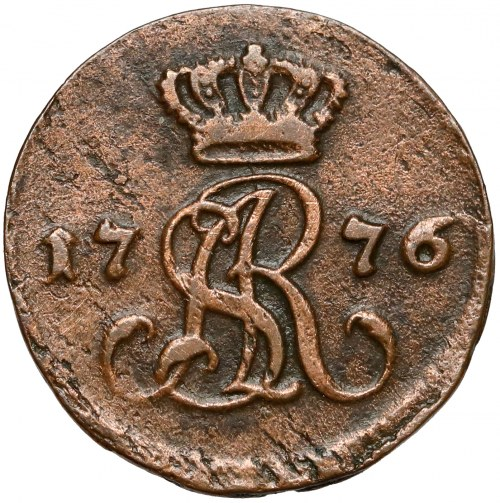 Poniatowski, Półgrosz 1776 E.B. - rzadki