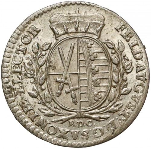 Niemcy, Saksonia, Fryderyk August III, 1/12 talara 1764 EDC