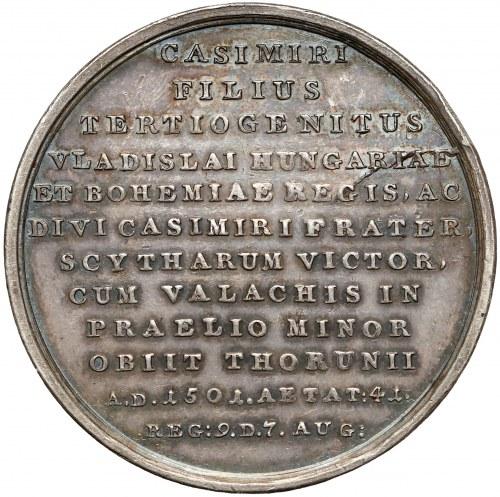 Medal SUITA KRÓLEWSKA - Jan Olbracht - srebro