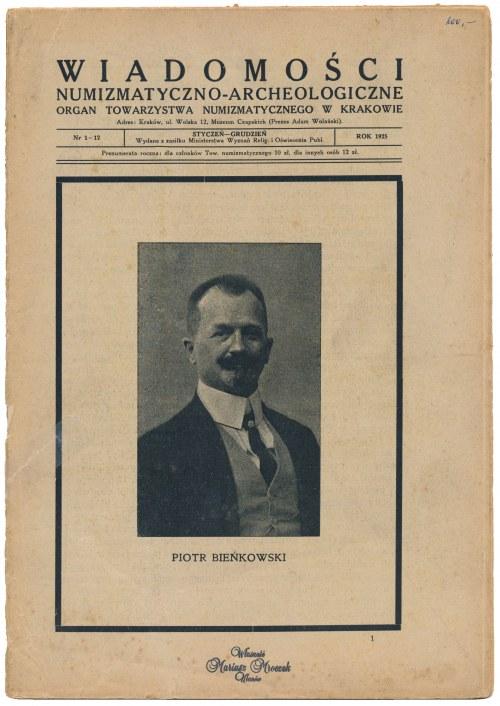 WNA 1925 - kompletny rocznik