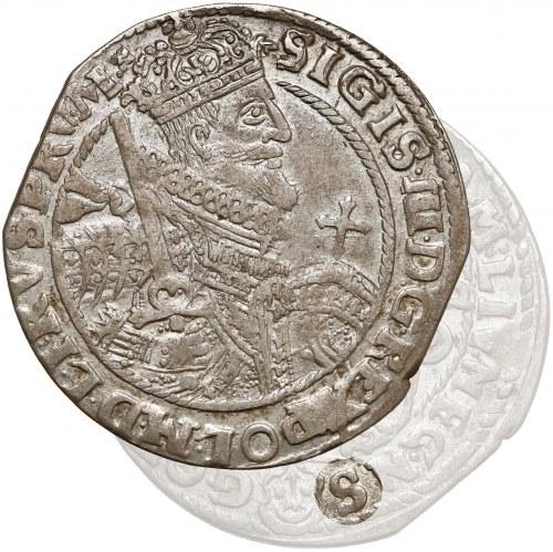 Zygmunt III Waza, Ort Bydgoszcz 1622 - skrót S - PRV M+