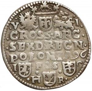 Zygmunt III Waza, Szóstak Bydgoszcz 1596 - rzadkość