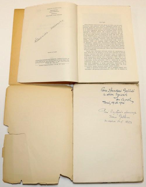 Sfragistyka (pieczęcie) - zestaw 3 szt. wydań z lat 1934-1960