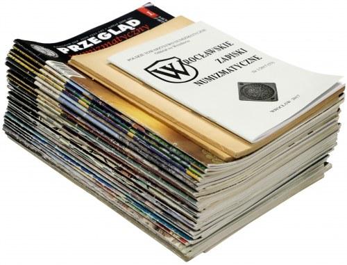 Przeglądy Numizmatyczne (36) + inne czasopisma (4)