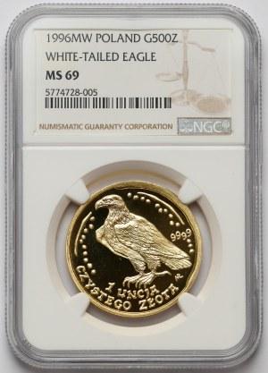 Orzeł Bielik 500 złotych 1996