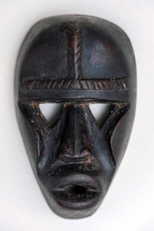 Maska mała, plemię KRAN, Liberia, Afryka