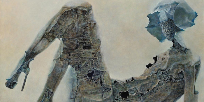 Beksiński - szkice i inspiracje do obrazów